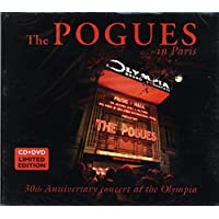 THE POGUES In Paris 30th Anniversary Concert At The Olympia CD+DVD set in Digipak