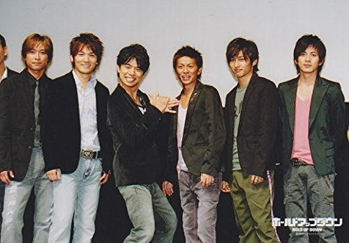 ジャニーズ公式生写真 V6 ホールドアップダウン 【集合】 ブイシックス