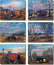 Cinnamon CMC385 Tractors Coasters