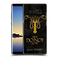 オフィシャルHBO Game of Thrones Greyjoy ダーク・ディストレス Samsung Galaxy Note8 / Note 8 専用ハードバックケース