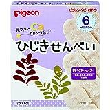 日亚:贝亲 婴儿小零食 高铁高钙羊栖菜仙贝米饼 6月起 6袋入×12盒,现价:2245日元