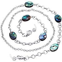 KAI Top Shell Bead Eyeglass Chain Sunglass Holder Reading Glass Retainer Lanyard
