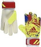 adidas(アディダス) サッカー キーパーグローブ クラシック トレーニング ソーラーイエロー/アクティブレッドS19/フットボールブルー(DT8746) 5- FTT25