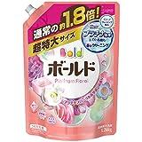 【大容量】 ボールド 洗濯洗剤 液体 香りのサプリインジェル プラチナフローラル&サボンの香り 詰替用超特大サイズ 1.26kg