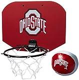NCAA Rawlings Ohio State Buckeyes Slam Dunk Softee Hoop Set