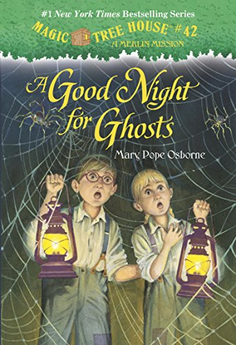 Magic Tree House #14: A Good Night for Ghosts (A Stepping Stone Book(TM)) (Magic Tree House (R) Merlin Mission)の詳細を見る