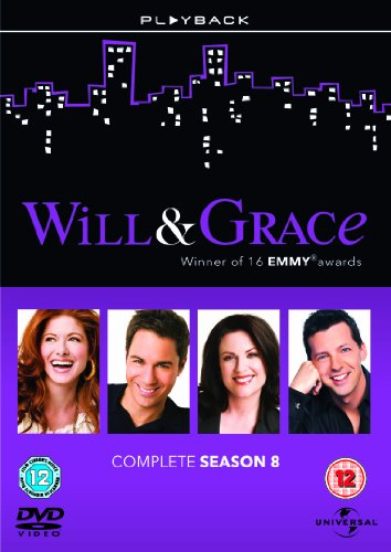 Will & Grace Season 8 [DVD] [Import anglais]