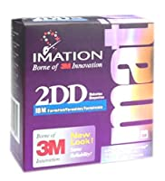 Imation 3.5IN Dd 1.0MB Preformatted IBM (10-Pack) (Discontinued by Manufacturer) [並行輸入品]