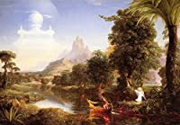 """The Voyage of Life : Youth by Thomas Cole 21"""" x 28"""" CAMZN117214-CP-2128"""