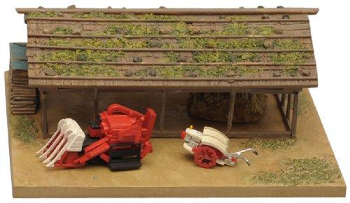 情景コレクション 情景小物 071 農機小屋と農機B