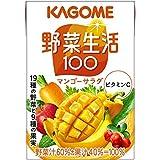 カゴメ 野菜生活100 マンゴーサラダ 100ml×36本