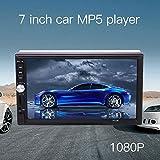 Sedeta® 車7インチ2DINタッチスクリーンMP5プレーヤー ステレオビデオサポートのBluetooth AUX USBのTFカードFMラジオ
