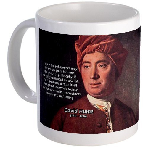 CafePress – Davidヒューム哲学マグ – Uniqueコーヒーマグカップ、コーヒーカップ S 17656375