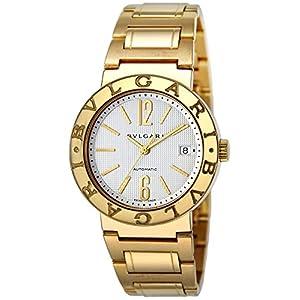 [ブルガリ]BVLGARI 腕時計 ブルガリブルガリ ホワイト文字盤 BB38WGGDAUTO メンズ 【並行輸入品】