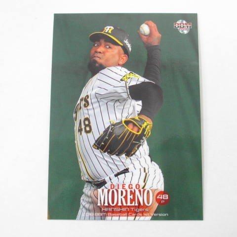 BBM2018/1st■レギュラーカード■197/モレノ/阪神 ≪ベースボールカード≫
