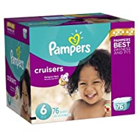 Pampers Cruisers Diapers Size 6 Giant Pack 76 Count by Pampers [並行輸入品]
