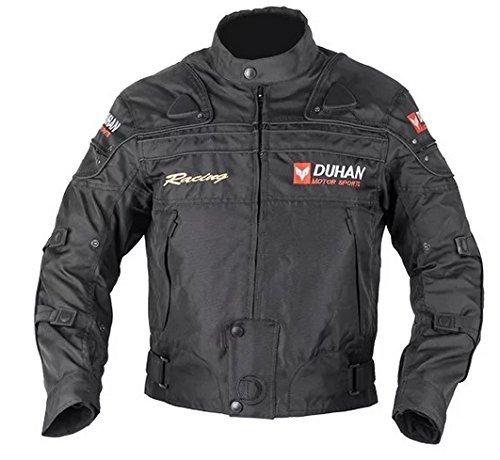 DUHAN(ドゥーハン) バイクジャケット プロテクター付 ...
