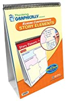 NewPath Learning Thinking Graphically About Reading Comprehension Story Elements Flip Chart Set Grade 1-7 [並行輸入品]