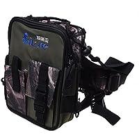 ILURE シティー迷彩色の防水オックスフォード多機能足バッグ、ウェストポーチ、ショルダーバッグ、釣りバッグ 21 * 16 * 7.5cm