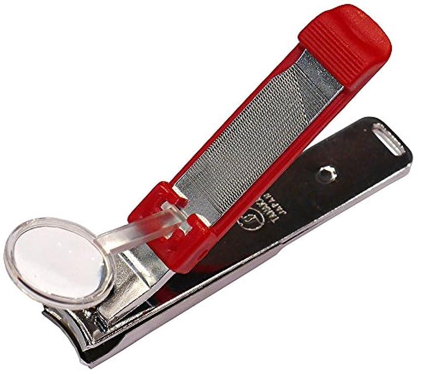 細断枠時計ワイドクリッパー ルーペ付き爪切 W2000