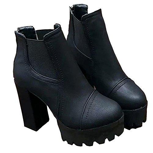 (ノーブランド品) ブーツ ショートブーツ サイドゴア サイドゴアブーツ レディース ブーティー 厚底 厚底ソール チャンキーヒール ショート ショート丈