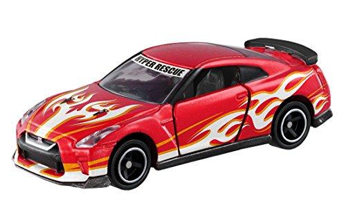 ドリームトミカ SP ドライブヘッド 機動救急警察専用車 日産 GT-R 消防ver.