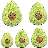 "18"" Cute Avocado Plush Pillow Fruits Toys Stuffed Dolls Cushion for Kids Children"