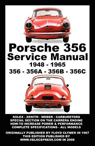 Veloce Porsche 356 Owners Workshop Manual 1948-1965