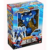 [SONOKONG}Special Attack Force Unit BOLTBOT Transformer Robot Toy + Toy Sanitizer30ml
