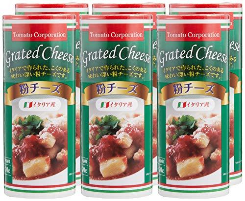 トマトコーポレーション粉チーズ(イタリア産)70g ×6本