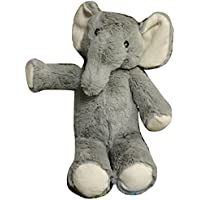 Kellybaby Plush Gray Elephant Rattle