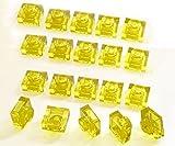 レゴ(LEGO) プレート パーツ [透明黄色(トランスイエロー)]1x1 20枚セット 【3024】