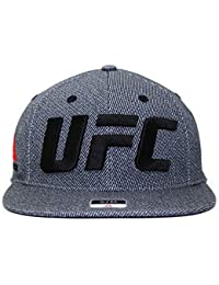 (リーボック) REEBOK UFC 【RAILROAD STRIPE FLAT VISOR FLEX/BLK】 リーボック [並行輸入品]