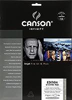 キャンソン 写真用紙 インフィニティ エディション エッチングラグ A4 10枚 6211005 【正規輸入品】