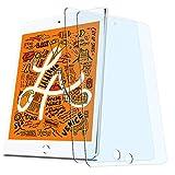 (ブルーライトカット)【2枚セット】 ipad mini5 ガラスフィルム/iPad mini4 用 フィルム 強化ガラス 液晶保護フィルム 3D Touch対応/高透過率/目の疲れ軽減