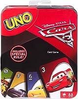 Uno Cars Card Game Tin Card Game [並行輸入品]
