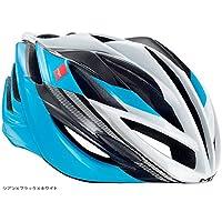 メット(MET) フォルテ ロードヘルメット シアン×ブラック×ホワイト