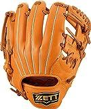 ゼット(ZETT) 少年軟式野球 グラブ ソフトステア オールラウンド用 右投げ用 オレンジ×オークブラウン(5636) サイズ:SS(身長~120cm向け) BJGB74110