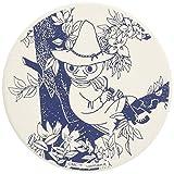 MOOMIN (ムーミン) 珪藻土 コースター スナフキン柄 10cm ホワイト MM1903-346
