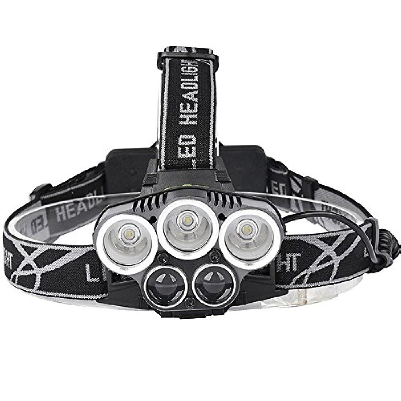 アンティーク潜むブランクXIAOBUDIAN ヘッドランプ15000lmヘッドランプ3T6 + 2LSTアルミ合金ボディヘッドランプヘッドライト6モードヘッドライトトーチComping