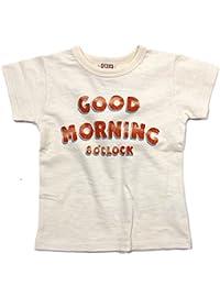 DILASH GOODMORNING スラブ天竺Tシャツ