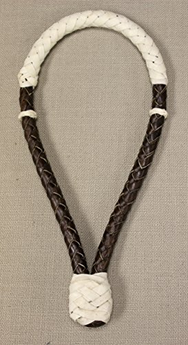 Natural Leather Braided RawhideボサルWestern Horseタック