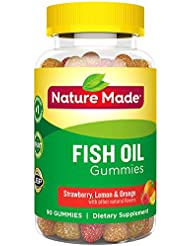 Nature Made Fish Oil Adult Gummies, 90 Count 海外直送品