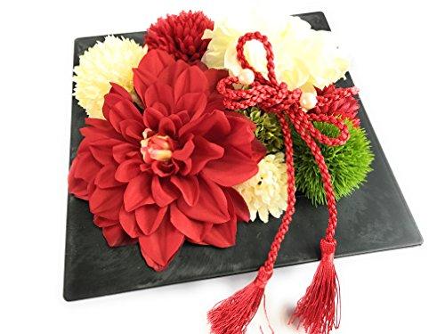 自分で作れるリングピロー手作りキット*和装結婚式*赤白の祝い...