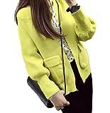 【four clover】 レディース アウター コート ジャケット 上着 あったか ニット 長袖 ゆったり 春 秋 冬 xl 大きいサイズ トップス ファッション カジュアル おしゃれ 安い エコバッグ付き