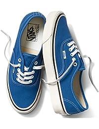 VANS バンズ ヴァンズ AUTHENTIC 44 DX (ANAHEIM FACTORY)BLUE VN0A38ENQA5 オーセンティック スニーカー メンズ レディース