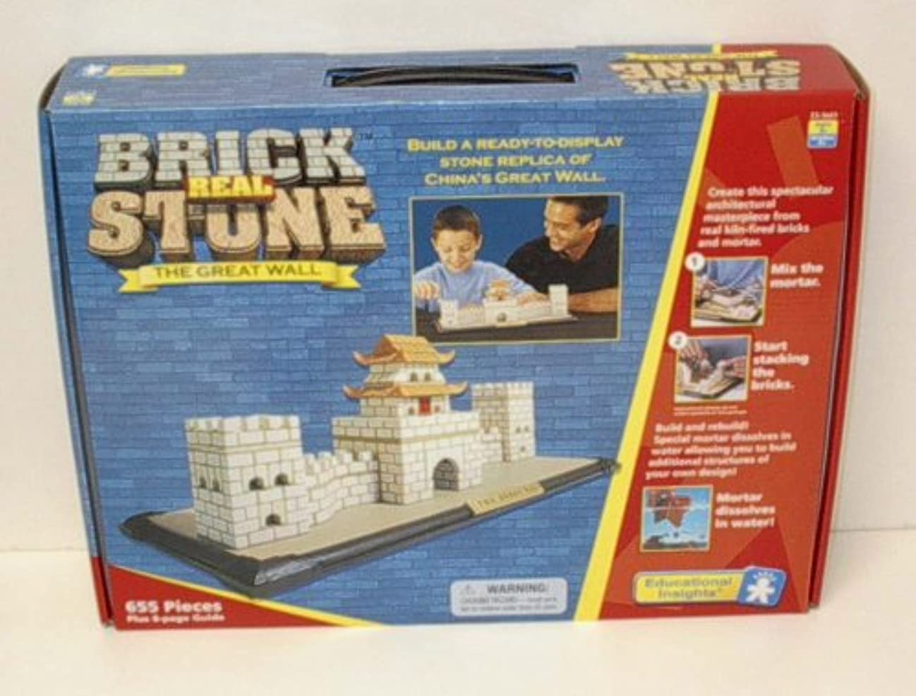 REAL BRICK STONE THE GREAT WALL Educational Insights