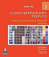Contemporary Topics Level 3 (3E) Audio CDs(3)