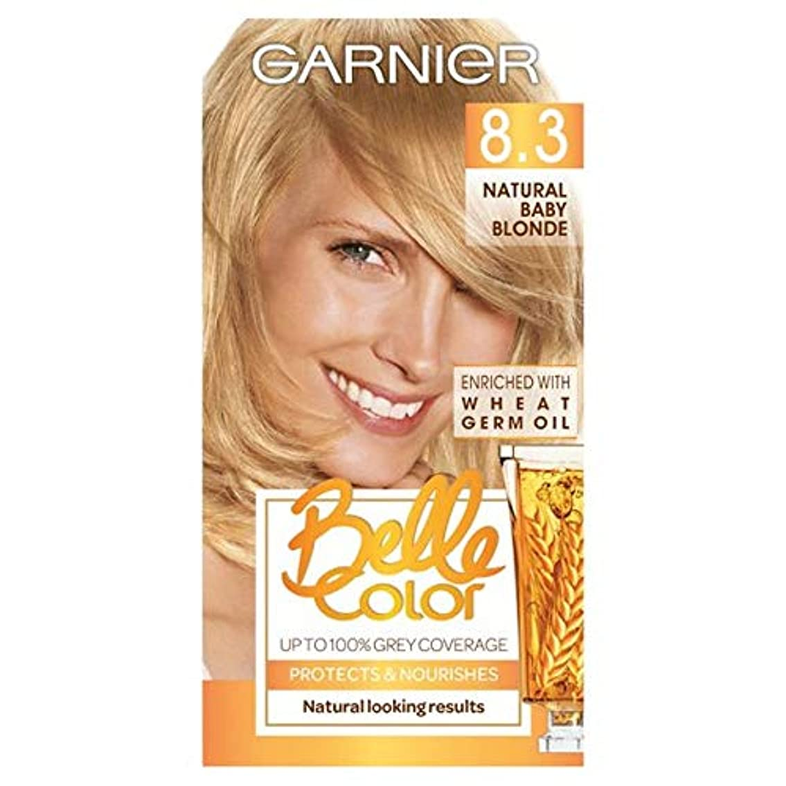 ねじれ囚人司教[Belle Color ] ガーン/ベル/Clr 8.3自然な赤ん坊ブロンドの永久染毛剤 - Garn/Bel/Clr 8.3 Natural Baby Blonde Permanent Hair Dye [並行輸入品]