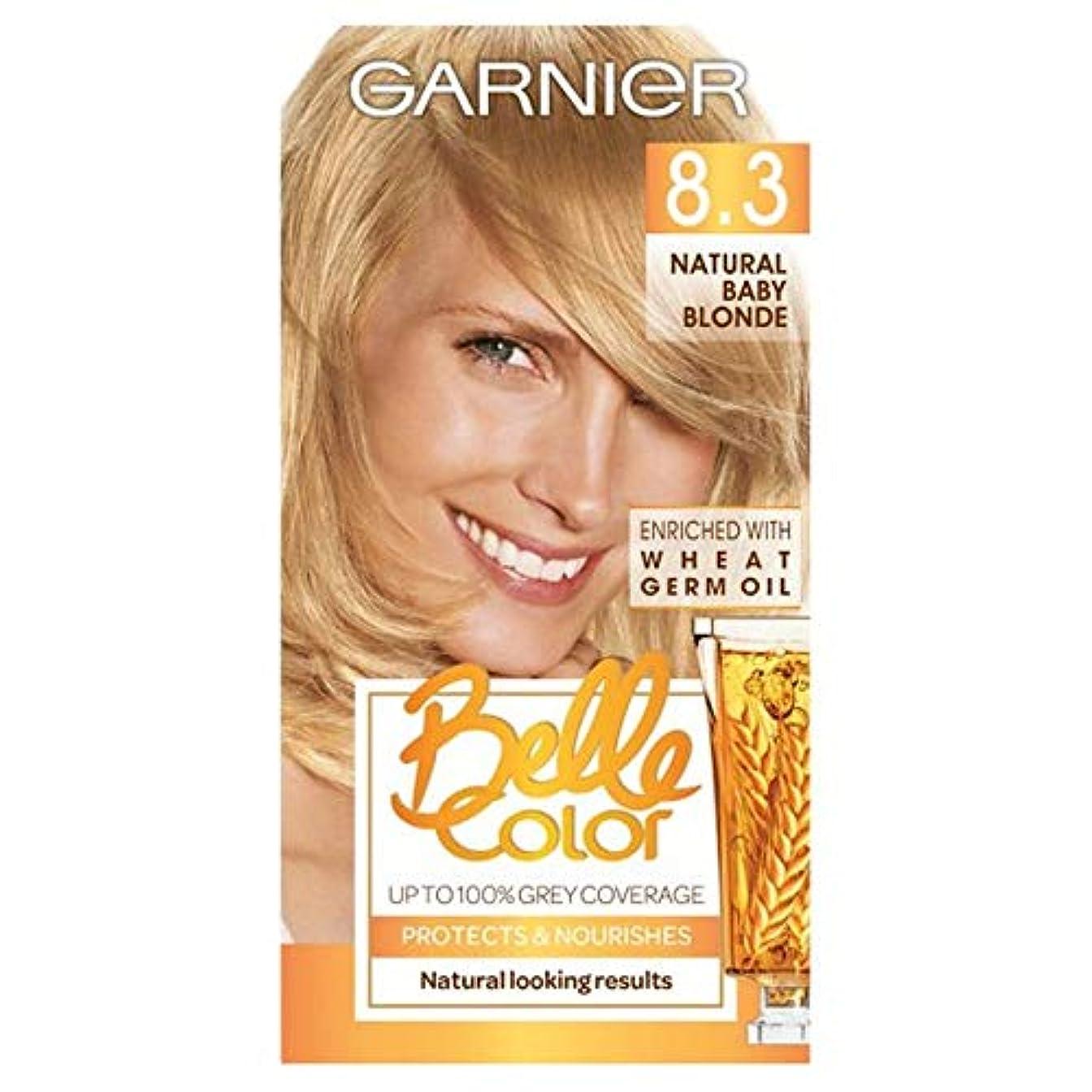 無駄にぼかし製品[Belle Color ] ガーン/ベル/Clr 8.3自然な赤ん坊ブロンドの永久染毛剤 - Garn/Bel/Clr 8.3 Natural Baby Blonde Permanent Hair Dye [並行輸入品]